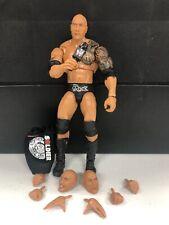 WWE Mattel The Rock Ultimate Edition Elite Series #10 figure loose
