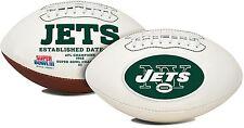NFL New York Jets Signature Series Team Full Size Football
