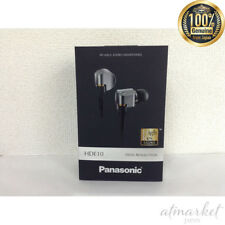 Panasonic Canal type earphone for high resolution sound source Silver JAPAN F/S