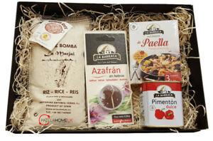 Paella Gift Starter Kit - Essential , Authentic Spanish 500g Rice Pack Gift Box
