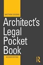 Architect's Legal Pocket Book by Matthew Cousins (Paperback, 2015)