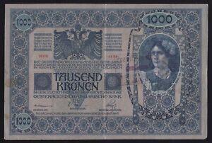 YUGOSLAVIA --- SHS---- 1000 KRONEN  1902 ----   SEAL ---- ZEMUN -- SERBIA ----