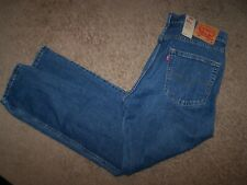new men's size 36X32 Levi's 502 regular fit tapered leg blue jeans/stretch/627