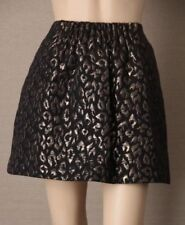 Animal Print Dry-clean Only Mini Regular Size Skirts for Women