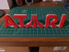 Atari video game logo sign 3D printed USA videogame