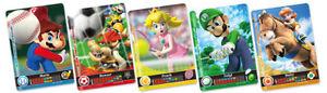 SUPER MARIO AMIIBO CARDS SPORTS SUPERSTARS WORKS ON NINTENDO SWITCH WII U 3DS