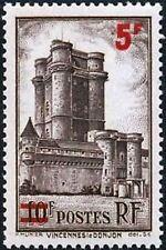 """Francia Stamp Francobollo 491 """" Vincennes 5F su 10F """" Nuovo Xx Ttb"""