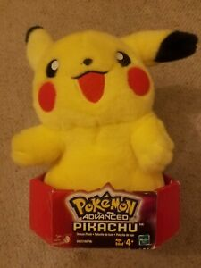 Pokemon Advanced Pikachu Plush 2004