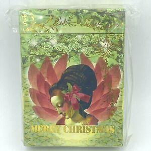 Papaya Art Greeting Cards Sealed Box 8-Ct Merry Christmas Wings 2010 4 Styles OF