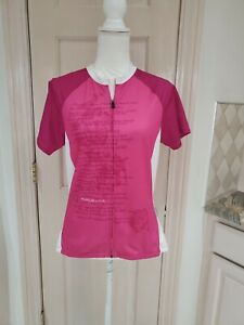 Specialized Riding For A Cure Womens Pink Cycling Top Sz Large