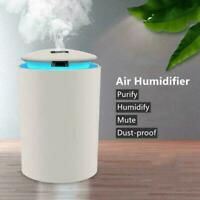 LED Light Up Electric Air Diffuser Aroma Oil Humidifier x 1. Car Diffuser E3V2