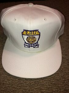 VINTAGE LOUISIANA STATE UNIVERSITY LSU NEW ERA SNAPBACK NCAA READ DESCRIPTION