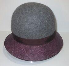 New Kangol Womens Dapper Felt Straw Cloche Cap Hat Small