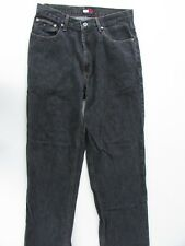 769f3a62a80140 Tommy Hilfiger Jeans Size W31 L32 Dark Grey Mens Loose Straight Denim  Zipper Fly