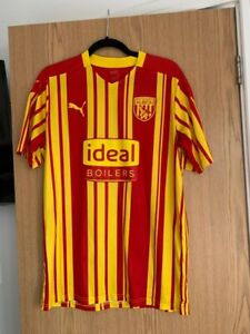 West Bromwich Albion Puma 3rd shirt 2020/21 Size Large Mens West Brom