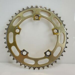 Vintage Sugino 43t BMX Chainring Gold Japan HTF