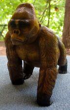 Barry Stein Male Silverback Gorilla Cast Bronze Figurine Ltd Ed 33/1000, w/ COA
