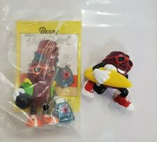 Applause  1988 and 1991 California Raisins Hardees Benny and Surf Board