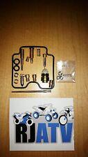 Bombardier Traxter 500 Max 2003-2004 Carburetor Rebuild Kit Repair Carb