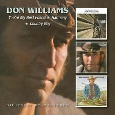 You're My Best Friend/harmony/country Boy 5017261211088 by Don Williams CD