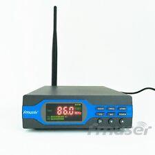 FMUSER FU-X01BK 1W FM Transmitter MP3+Bluetooth+Battery Power+Antenna Package