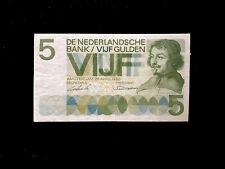 Niederlande (P090) 5 Gulden 1966 VF