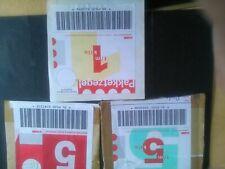 Nederland 3 pakketzegels (2x 5 kilo, 1 x 1 kilo)