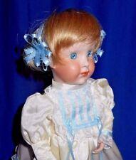 Ooak Art Bisque Doll: Artist Winnie, Darryl Smith, In, Child Grace Cory Orig Dm1