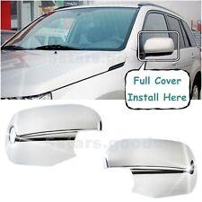 Chrome Side Rear View Mirror Covers Trims For 2006-2013 Suzuki Grand Vitara