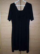 Gerry Weber Frauen Damen Kleid schwarz Größe 38 Viskose