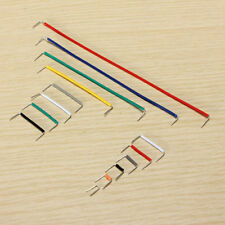10x(140pcs U Shape Solderless Breadboard Jumper Cable Wire Kit for Arduino Y7W4
