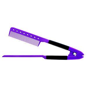 V TYPE Straightening Hair Comb Brush Flat Dryer Styling Tool Hairdressing DIY