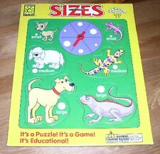 Brighter Vision Spin 'N' Learn Sizes Puzzle Dogs Lizards