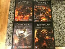 FFG Deathwatch RPG Lot 4 Books Brand New Hardcovers Warhammer 40k Roleplaying