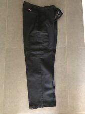 Genuine Dickies Work Pants 32x30 WP592 with Cargo Pockets Black