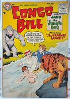 🦍 CONGO BILL #7 GOOD FINAL ISSUE DC COMICS 1954 1955 CONGORILLA JUSTICE LEAGUE