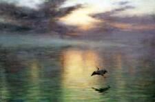 Sea, Sky, Bird by Joseph Farquharson
