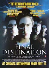 2000 Film Advert 'FINAL DESTINATION' Devon Sawa - Vintage Movie Print Ad