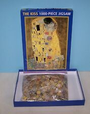 The Kiss 1907-08 by Gustav Klimt 1000 Pcs Art Puzzle by Peony Press