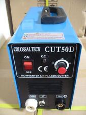 Plasma Cutter 50AMP New CUT50D Inverter Dual Voltage Guide & 40 Consumables