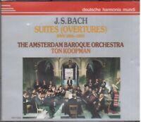 Bach: Suite (Overture) Pour Orchestre / Koopman, Amsterdam Baroque - CD