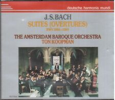 Bach: Suite (Overture) Per Orchestra / Koopman, Amsterdam Baroque Orchestra - CD