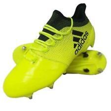 Adidas X 17.1 Leather SG Soccer Shoes Men US 11 BNIB Solar Yellow New