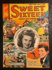 Sweet Sixteen Comics and Stories For Girls #7 1947