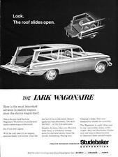 Print. 1963 Studebaker Lark Daytona Wagonaire auto advertisement