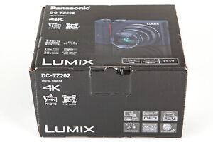 Panasonic Lumix DC-TZ202 EG-K schwarz Kompaktkamera