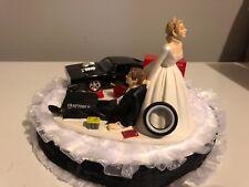 Auotmotive custom made wedding cake topper