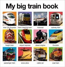 MY BIG TRAIN BOOK - FARIA, KIMBERLEY/ COCKAYNE, HANNAH/ OLIVER, AMY - NEW BOOK
