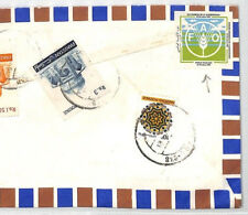 BT235 1981 Pakistan UNITED NATIONS *FAO* LABELS Mulkan *Cotton Research* Cover