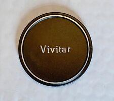 Vivitar Metal 60mm Push on Lens Cap